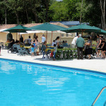 2 Zwembad Domaine lacs de Gascogne